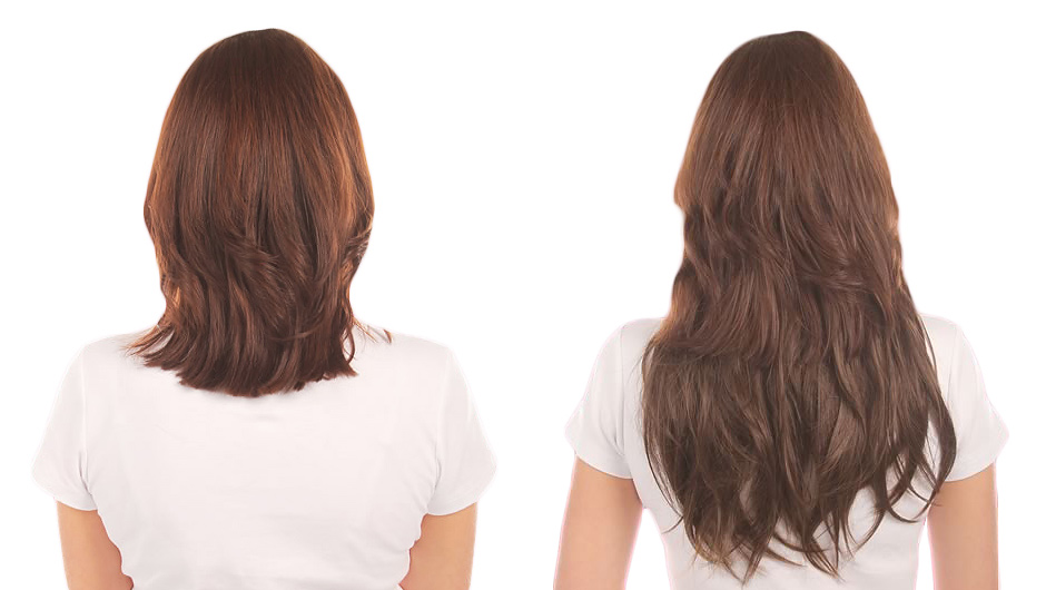 Dark flare hair extensions