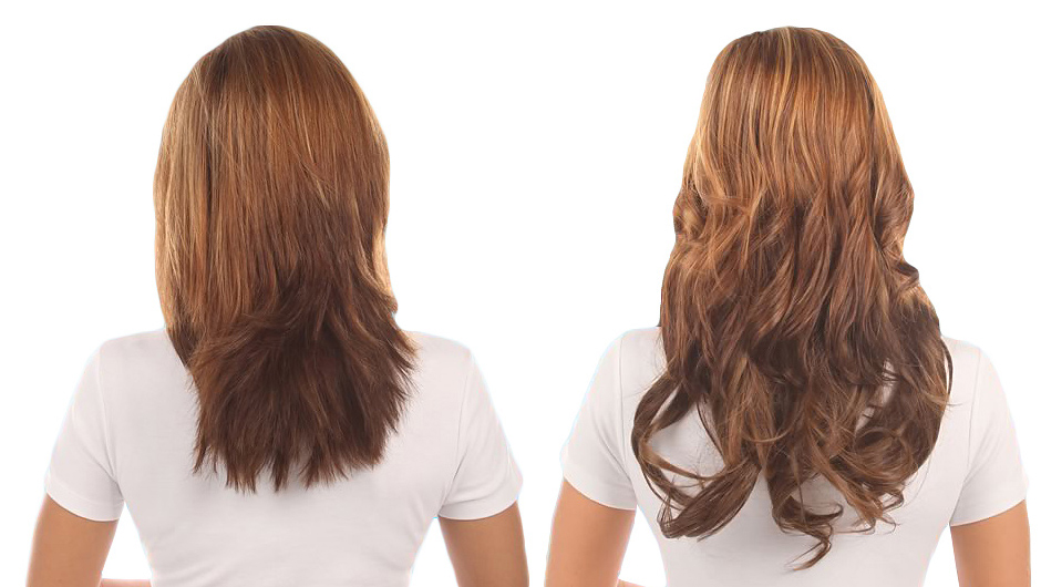 Long brown hair extensions