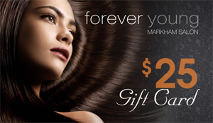 Forever Young Markham salon gift card